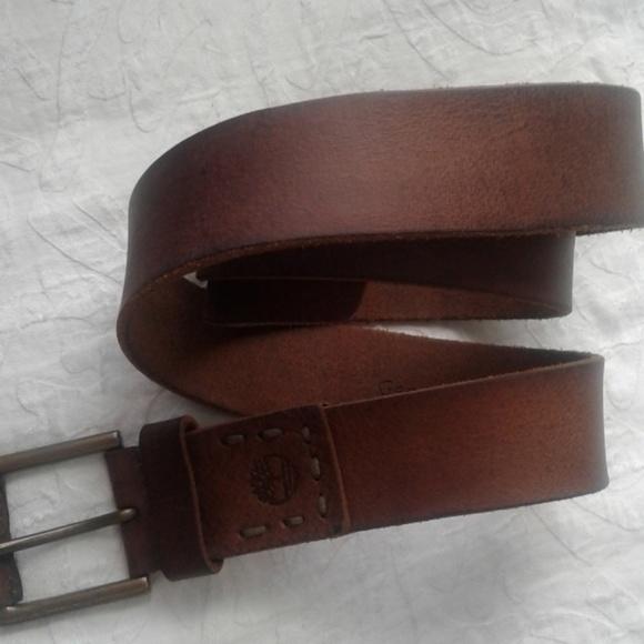 d45089a3cd7 Timberland soft brown leather belt size 38. M_5b6ca2bbaa8770b71894488a